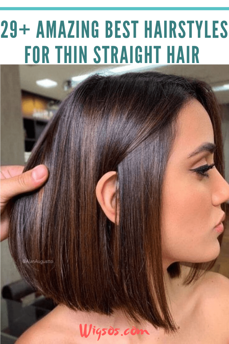 29 Amazing Best Hairstyles For Thin Straight Hair Kapsels Recht Haar Dun Steil Haar Mode Kapsels