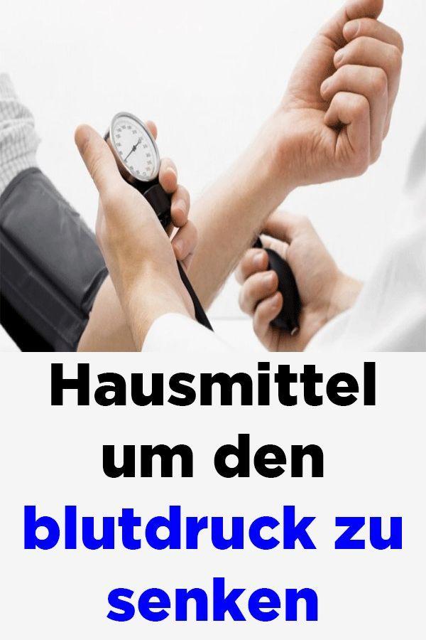 Hausmittel um den Blutdruck zu senken - Bluthochdruck..