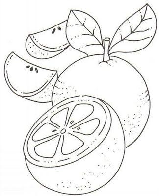 Mi Escuela Divertida Alimentos Paginas Para Colorear Frutas Para Colorear Dibujos En Tela