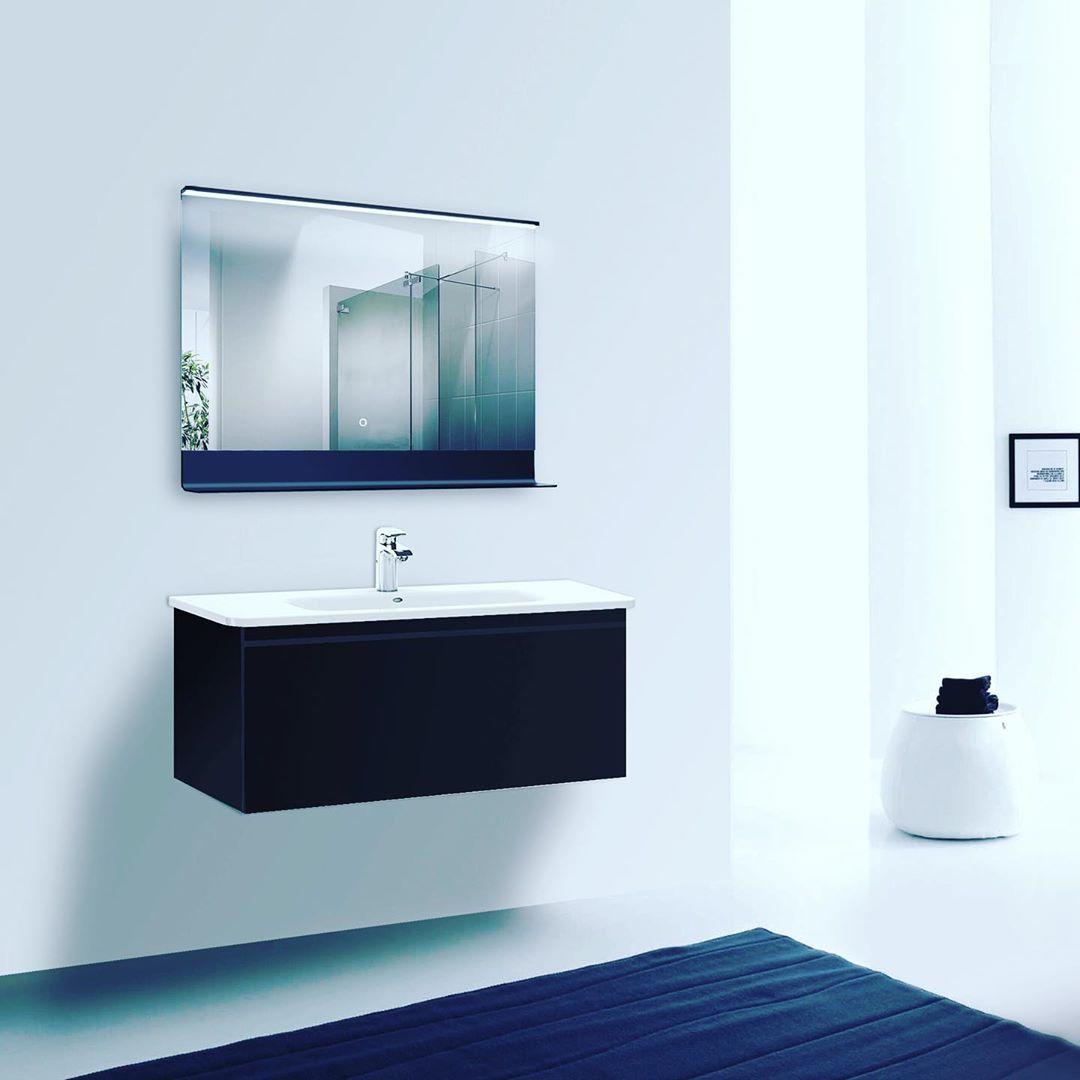 Talos Black Home Bathroom Mirror Black House Home
