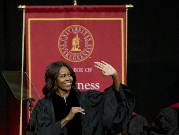 Michelle Obama Delivers Tuskegee Commencement Speech