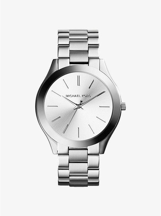 Slim Runway Silver-Tone Watch. Michael Kors KelloWatches 80eadf4fa4