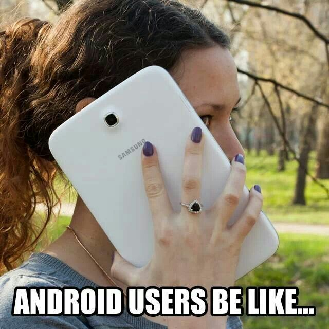eb0604a8ba55667f495be9d7f1ca8f8c android users funny pinterest android