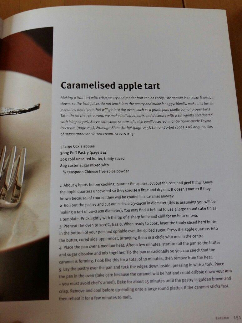 Gordon ramsay caramelised apple tart caramelised apples