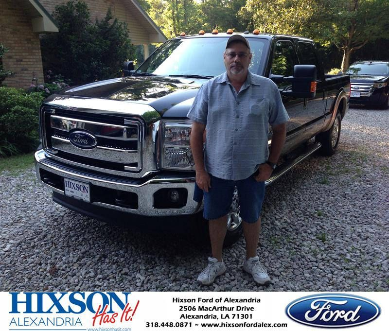 Congratulations to Johnny Jamison on your #Ford Super Duty F-250 SRW purchase from Andrew Montreuil at Hixson Ford of Alexandria! #HixsonHasIt