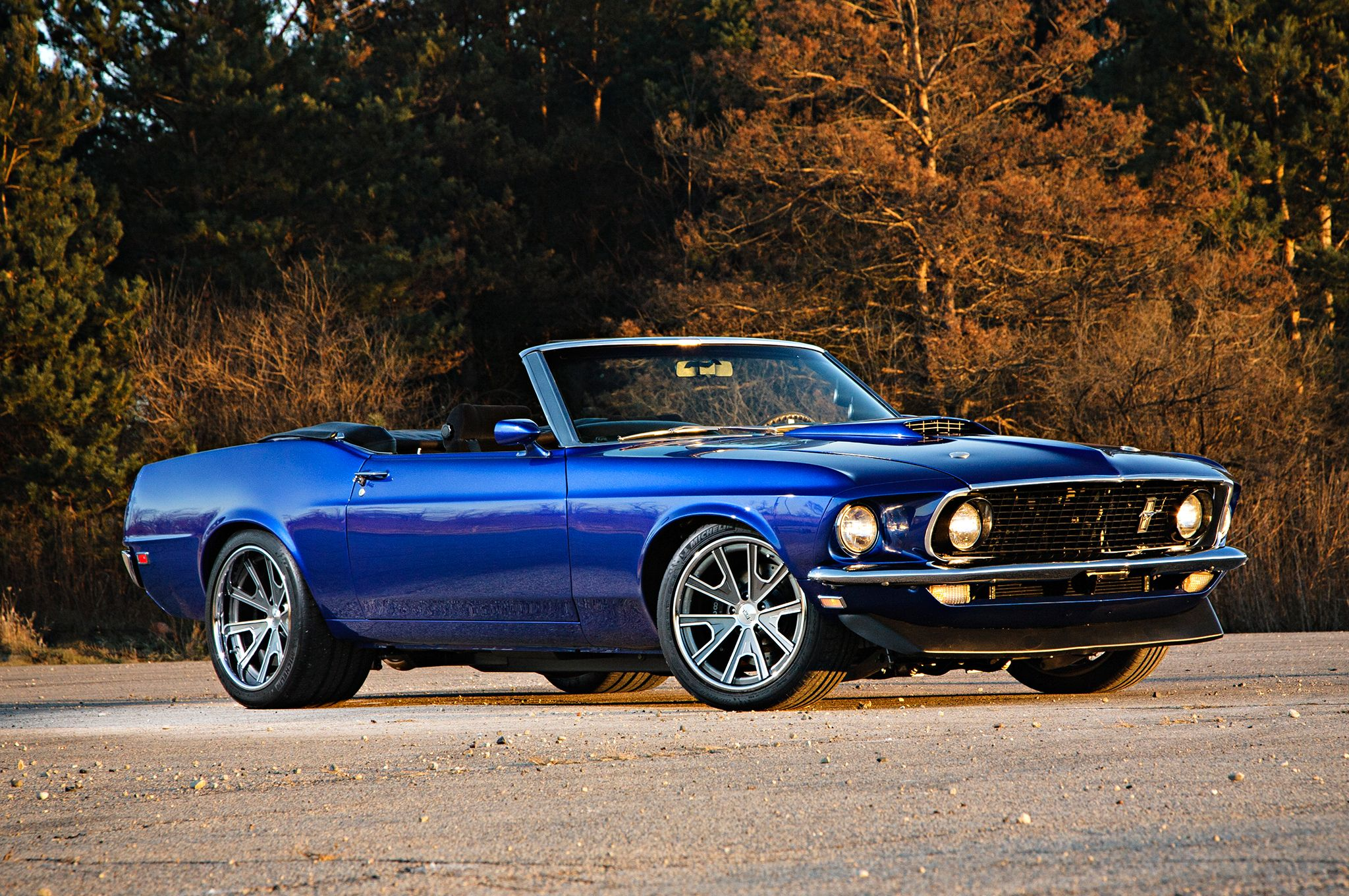 A Santorini Blue 1969 Ford Mustang Convertible For The Ages Ford