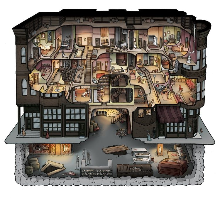 Making the H. H. Holmes Murder Castle | Podcasts | Pinterest ...