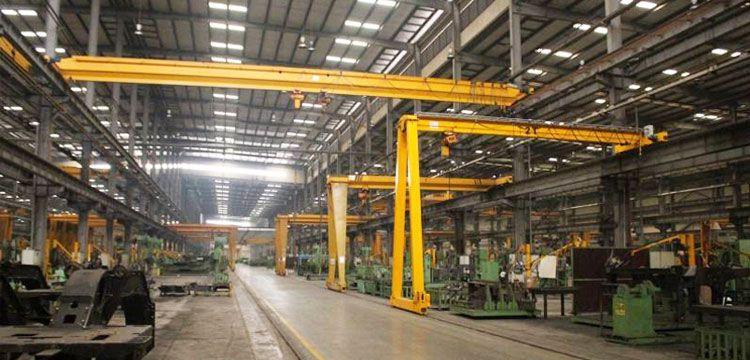 Indoor Semi Gantry Crane | Gantry Crane | Gantry crane