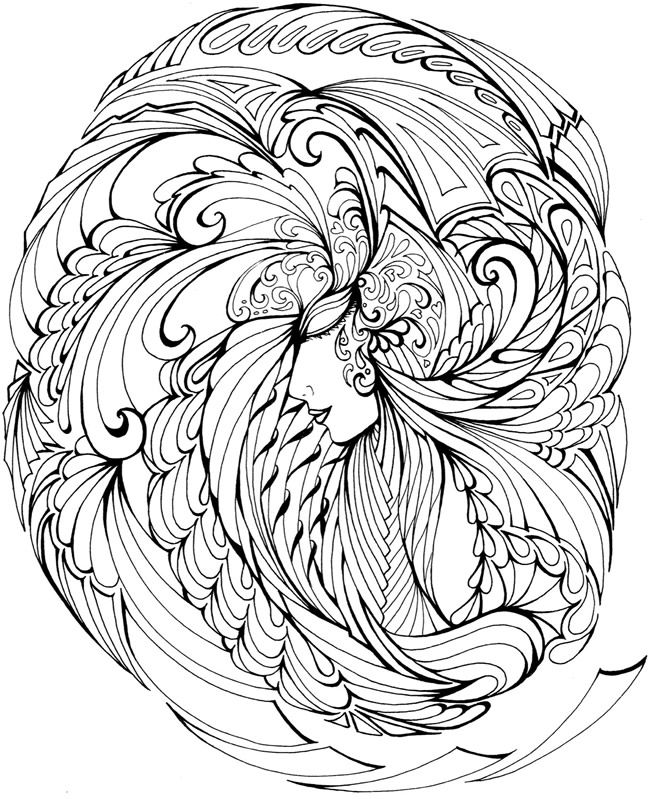 Welcome to Dover Publications   Adult Coloring Pages   Pinterest ...