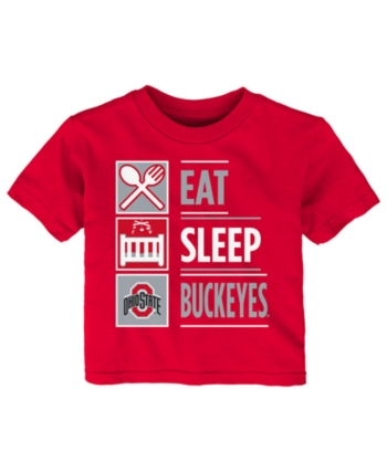 Outerstuff Ohio State Buckeyes NCAA Toddler Boys Red T-Shirt