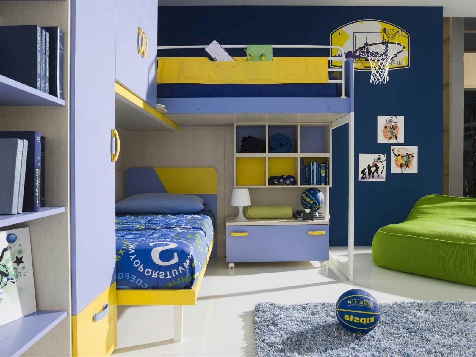 Decorating Basketball Themed Kids Room Attractive Kids Room