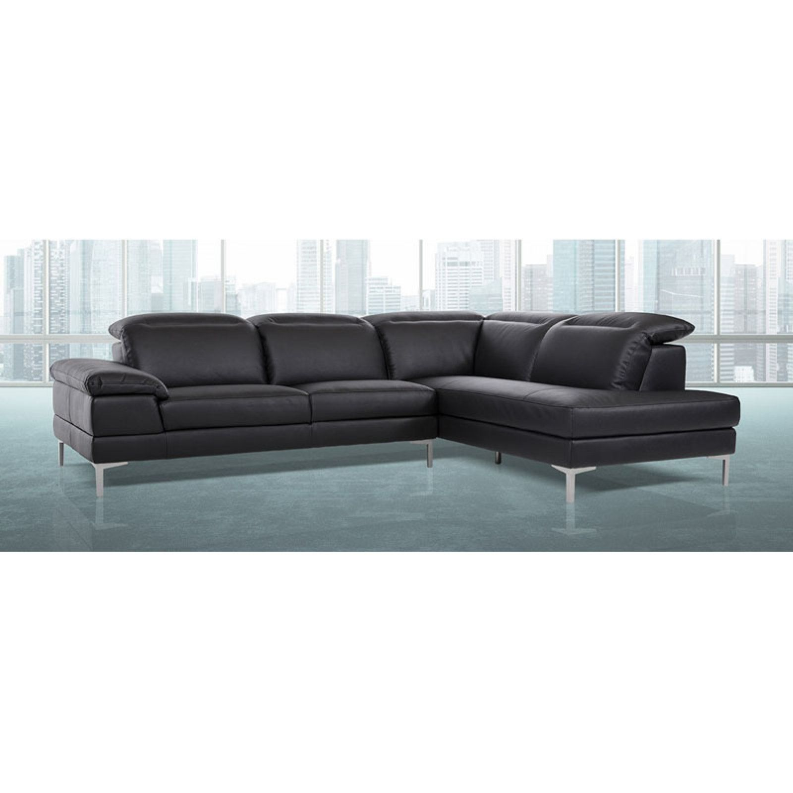 Divani Casa Carnation Modern Eco Leather Sectional Sofa Products