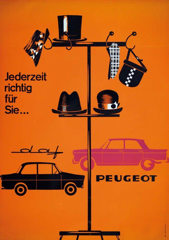 Peugeot vintage ad