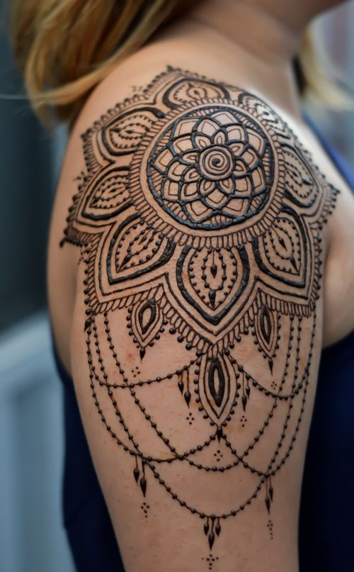 Ritual By Design Henna Tattoos Shoulder Tattoo Henna