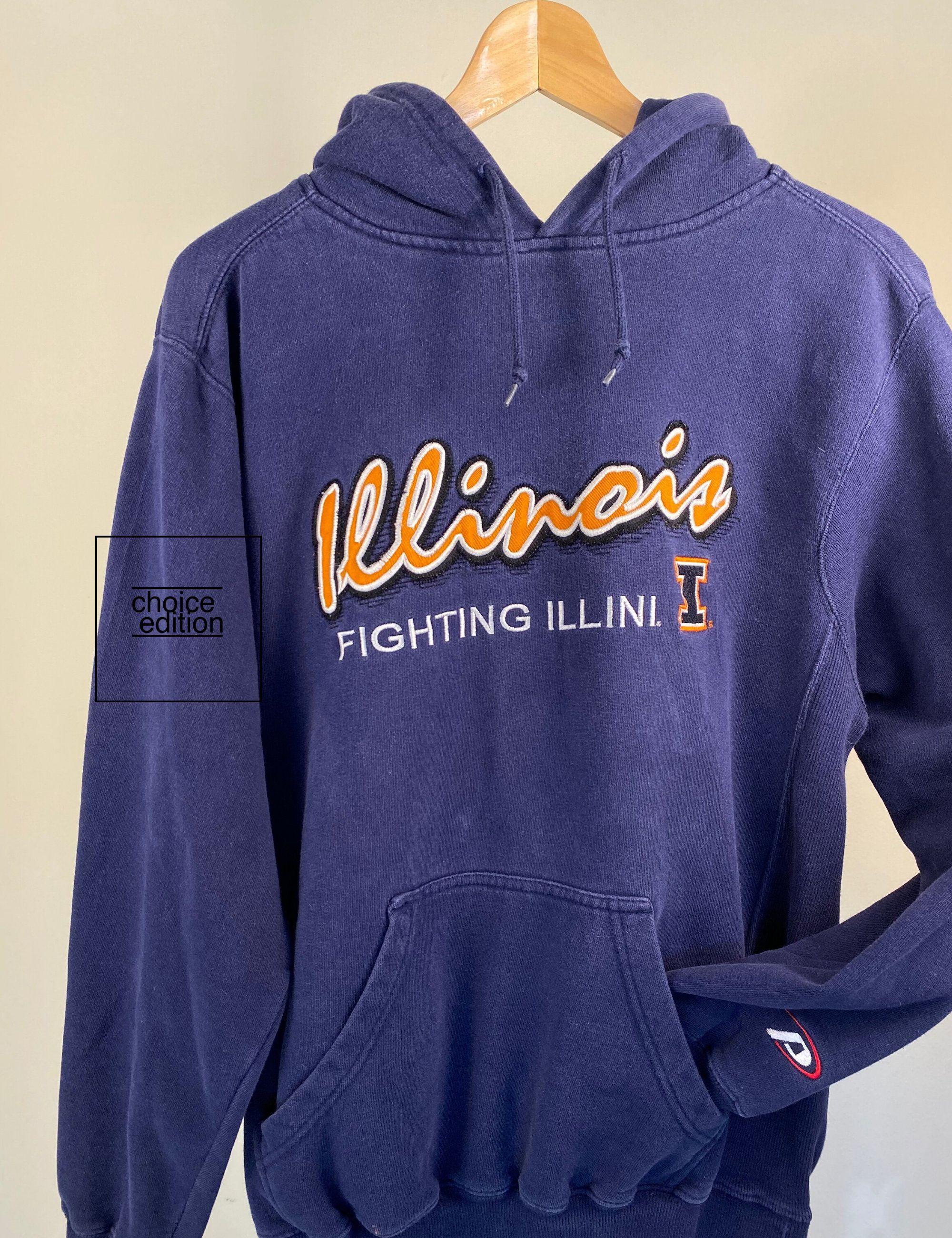 Vintage Navy Blue College Sweatshirt Illinois State Etsy Sweatshirts College Hoodies College Sweatshirt [ 2600 x 2000 Pixel ]