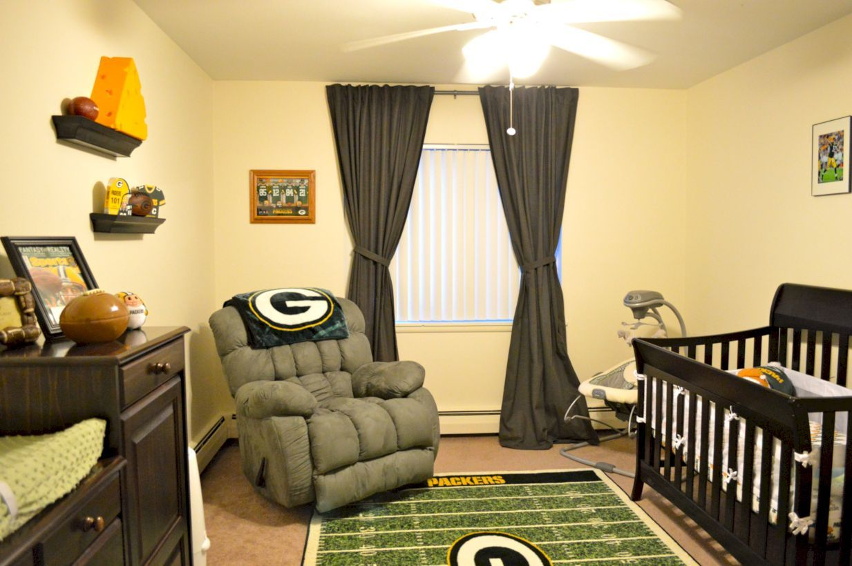 44+ Cool Baby Boy Nursery Rooms Sport Decor | Sports decor, Nursery ...
