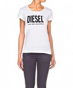 base arco Series de tiempo  T-Lindo Blanco - #Diesel | T shirts for women, T shirt, Fashion