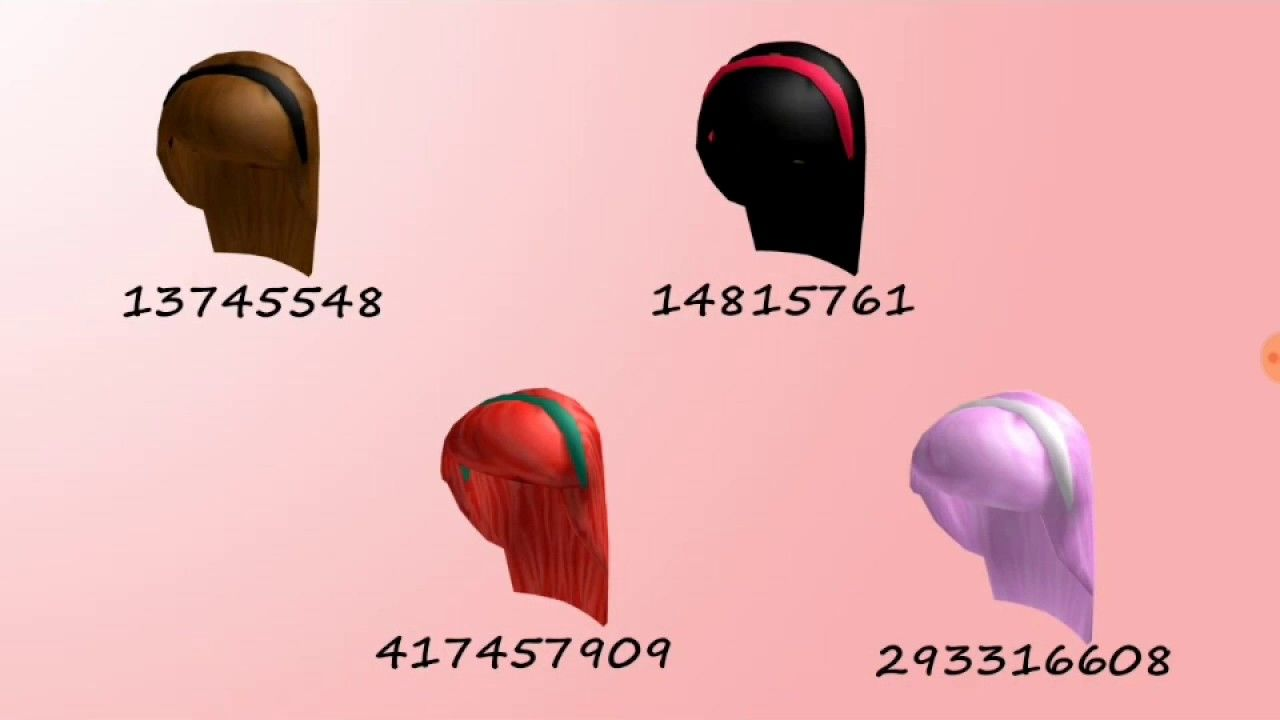 Codes For Roblox High School Hair And Clothes Feels Free To