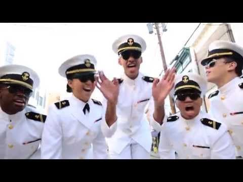Watch The Navy Midshipmen Dance And Sing In Uptown Funk Cover Called Naptown
