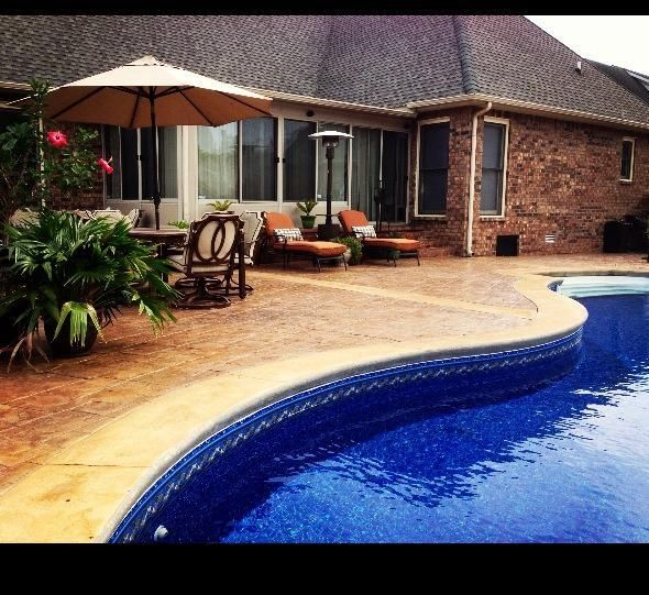 Your Own Private Pool And Spacious Patio