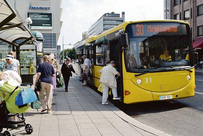 Etusivu Bus Station Turku Public Transport