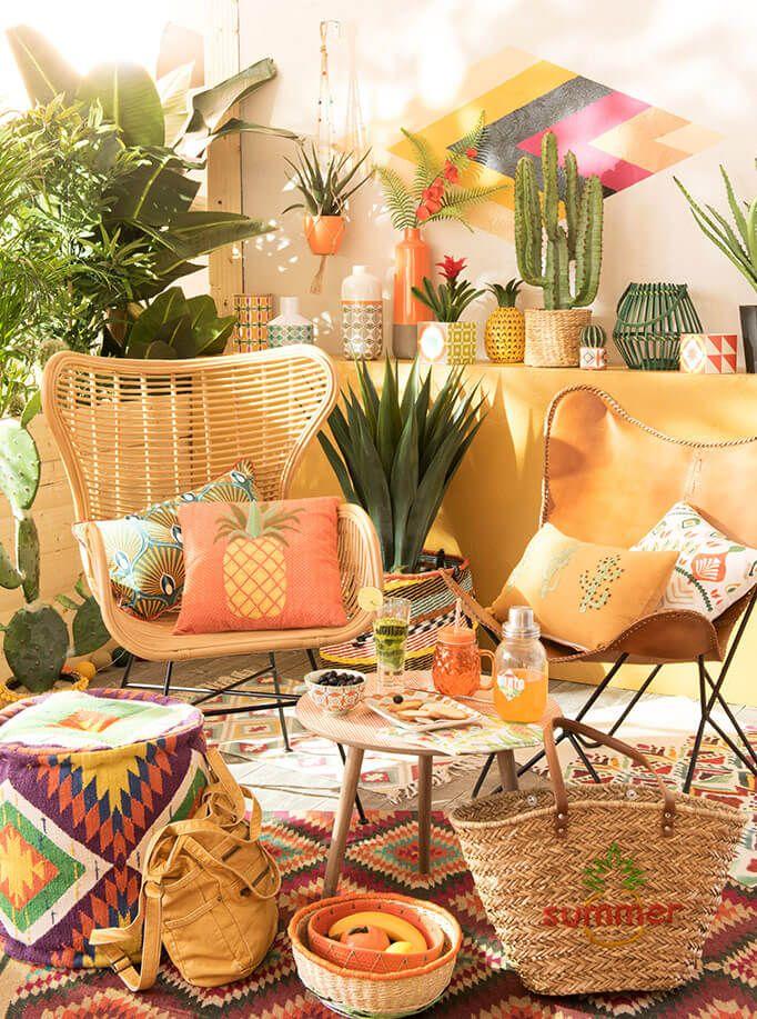 Tendance Deco Caliente Maisons Du Monde Deco Jardin Pinterest