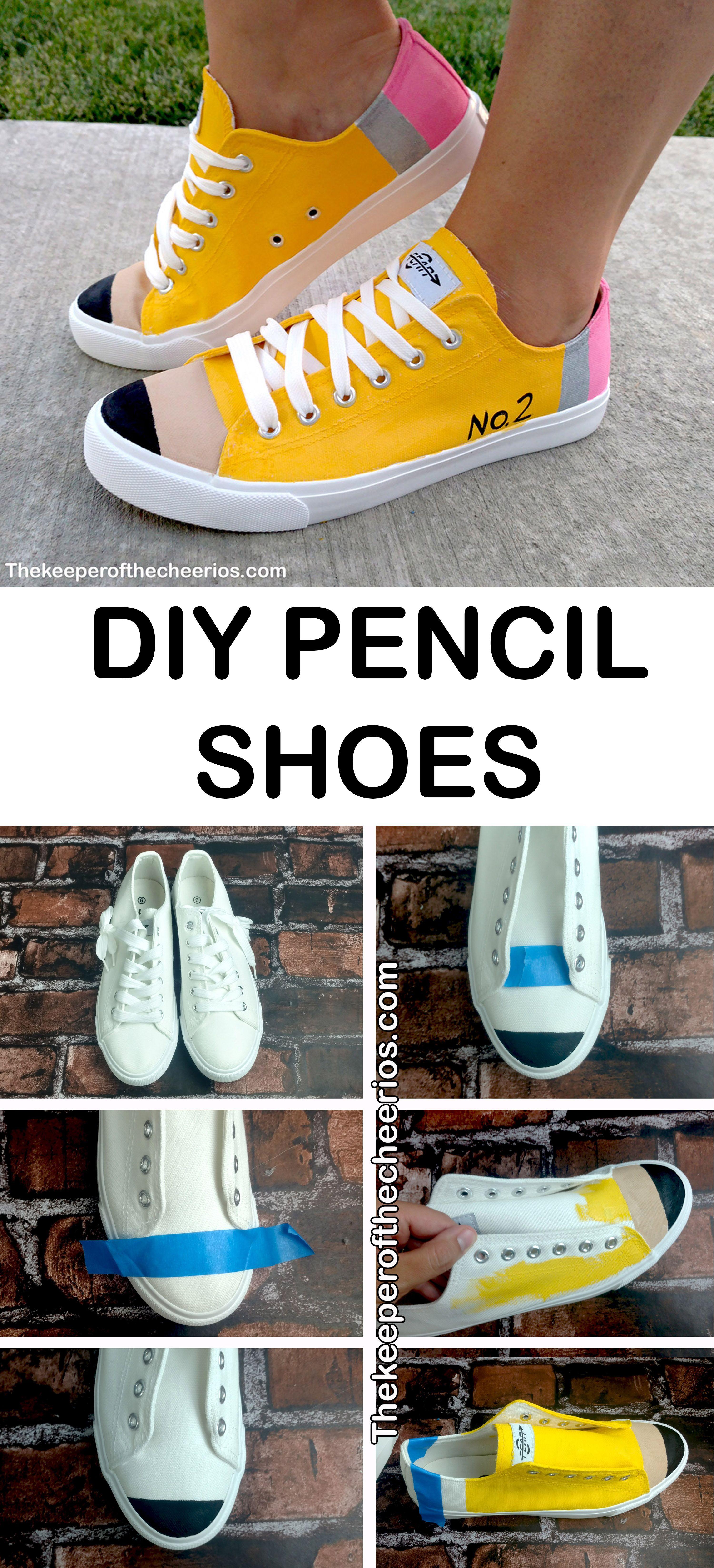 cb2de8910ce43a DIY Pencil Shoes