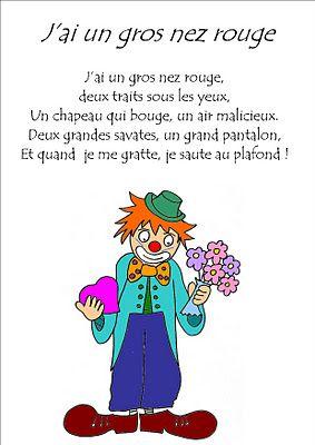 Jai Un Gros Nez Rouge : rouge, Maternelle, Laurène:, Rouge, Laurene,, Comptines,, Chansons
