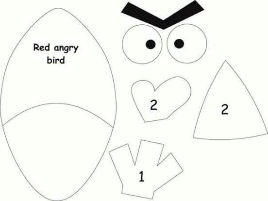 red angry bird kid holiday pinterest angry birds red angry