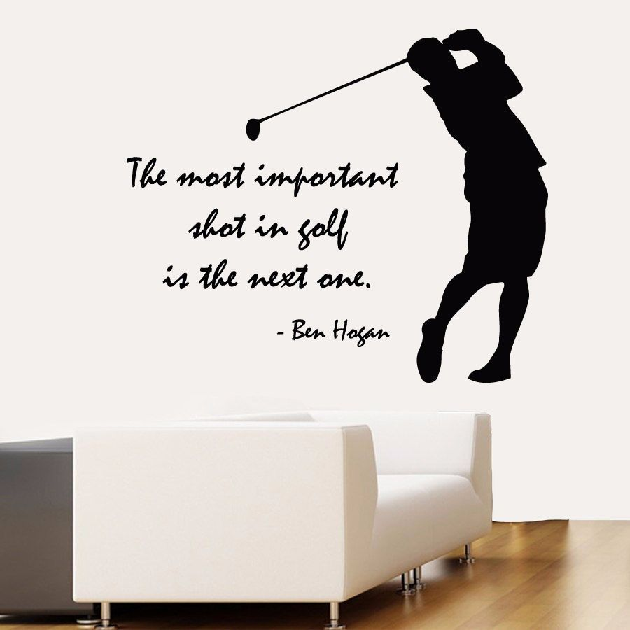 Vinyl wall decal golfter boy font b golf b font player quote vinyl wall decal golfter boy font b golf amipublicfo Gallery