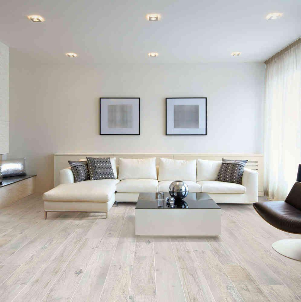 Carrelage imitation parquet Listone Classico Bianco Antico 20 x 20