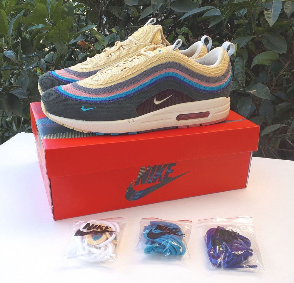 4b73a8ac49 Nike Air Max 1/97 VF 'Sean Wotherspoon' Size 9.5 UK EU 44.5 US 10.5 ...