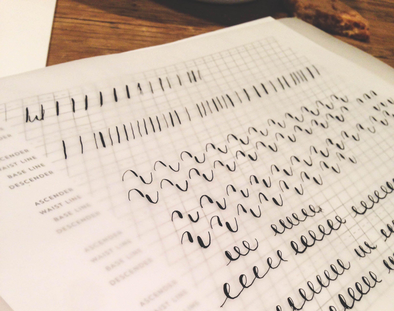 Free Calligraphy Worksheets Printable
