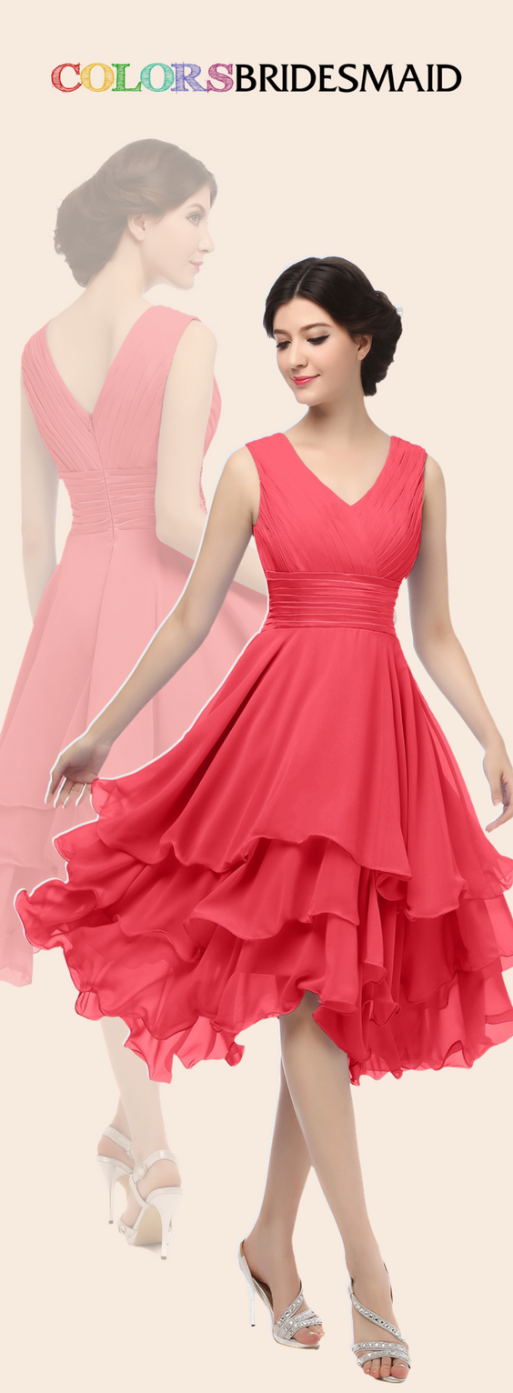 ColsBM Grace - Coral Bridesmaid Dresses | Clothes I Actually Like ...