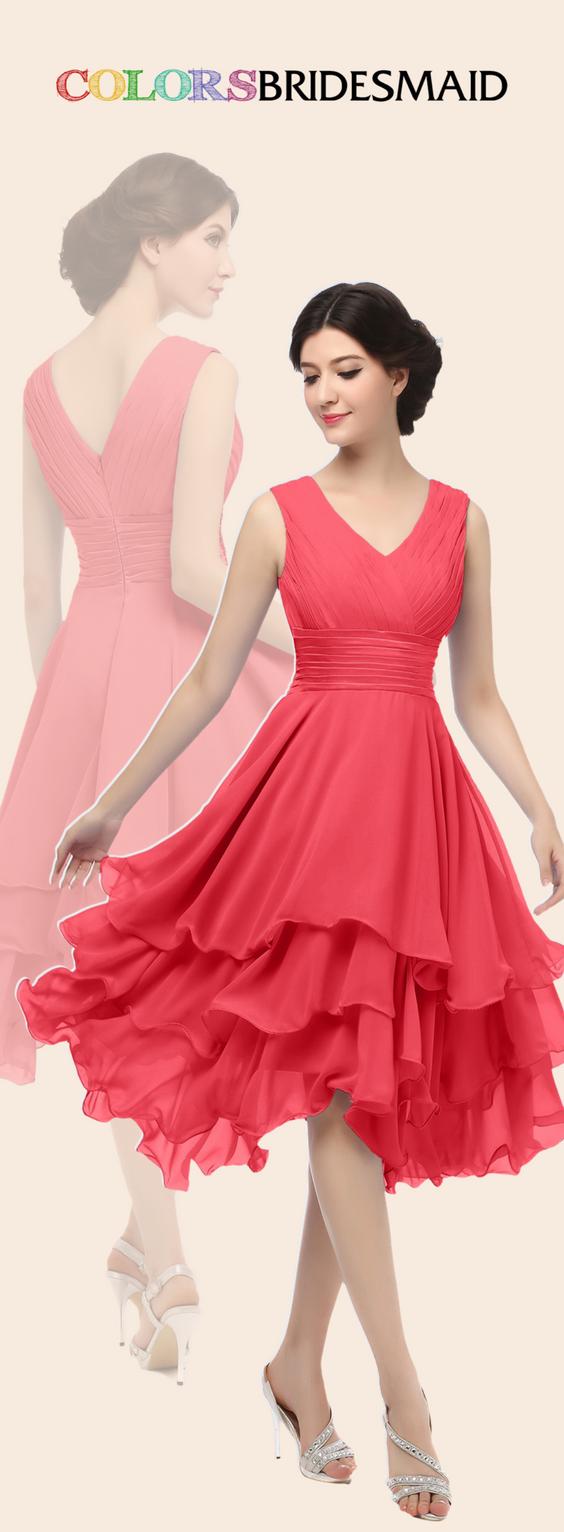 Colsbm grace coral bridesmaid dresses interesting fashion