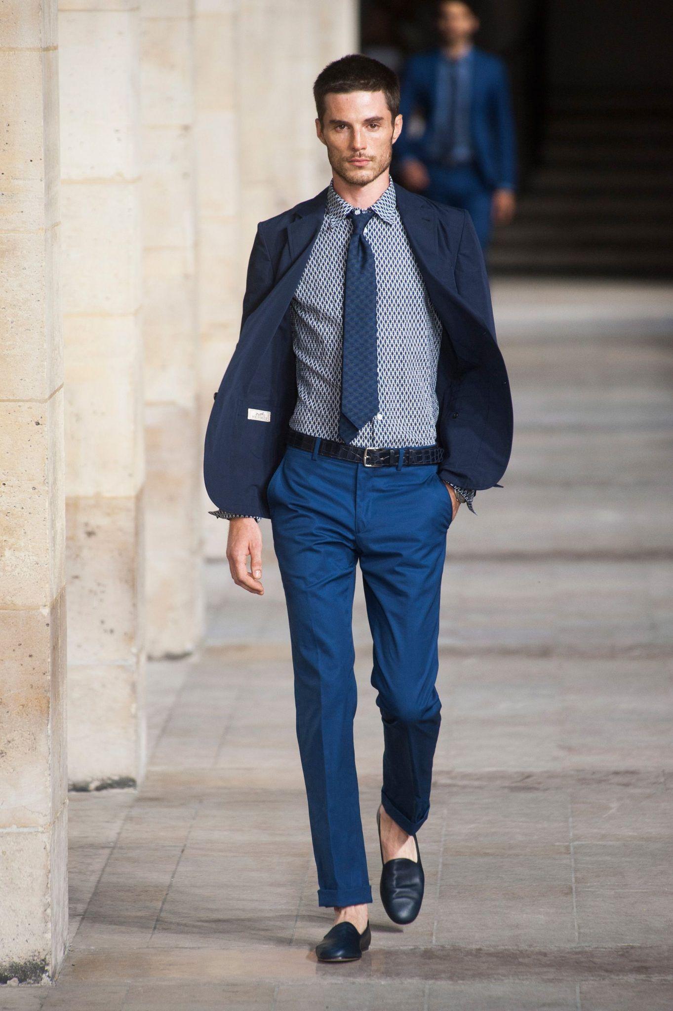 Royal Blue vs Navy Blue: How to Wear Blue | Mens fashion