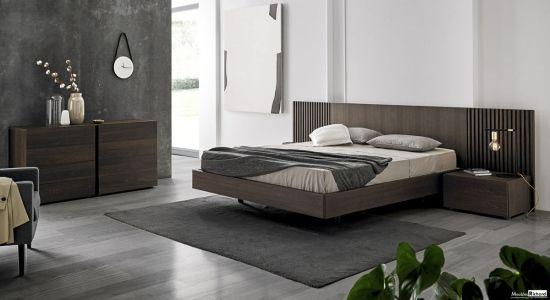 Chambre à coucher - Haut de gamme - Style contemporain | idée pour ...