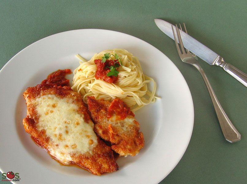 Chicken Parmigiana Recette Poulet Parmesan Poulet Recette