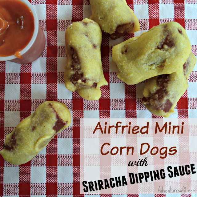 Airfryer Mini Corndogs Recipe Corn