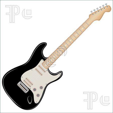 electric guitar clipart black and white clipart panda free rh pinterest com electric guitar silhouette clip art electric guitar clip art black and white