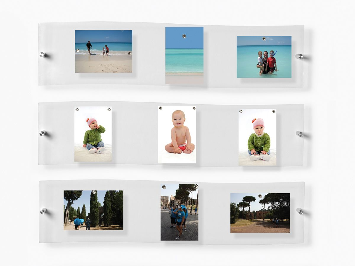 3 panoramic floating acrylic frames. Hang them in home art galleries ...