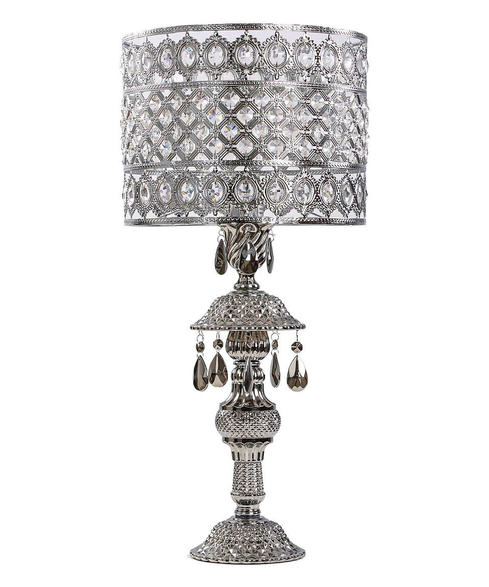 Take a look at this silver crystal ornate table lamp today emma take a look at this silver crystal ornate table lamp today aloadofball Choice Image