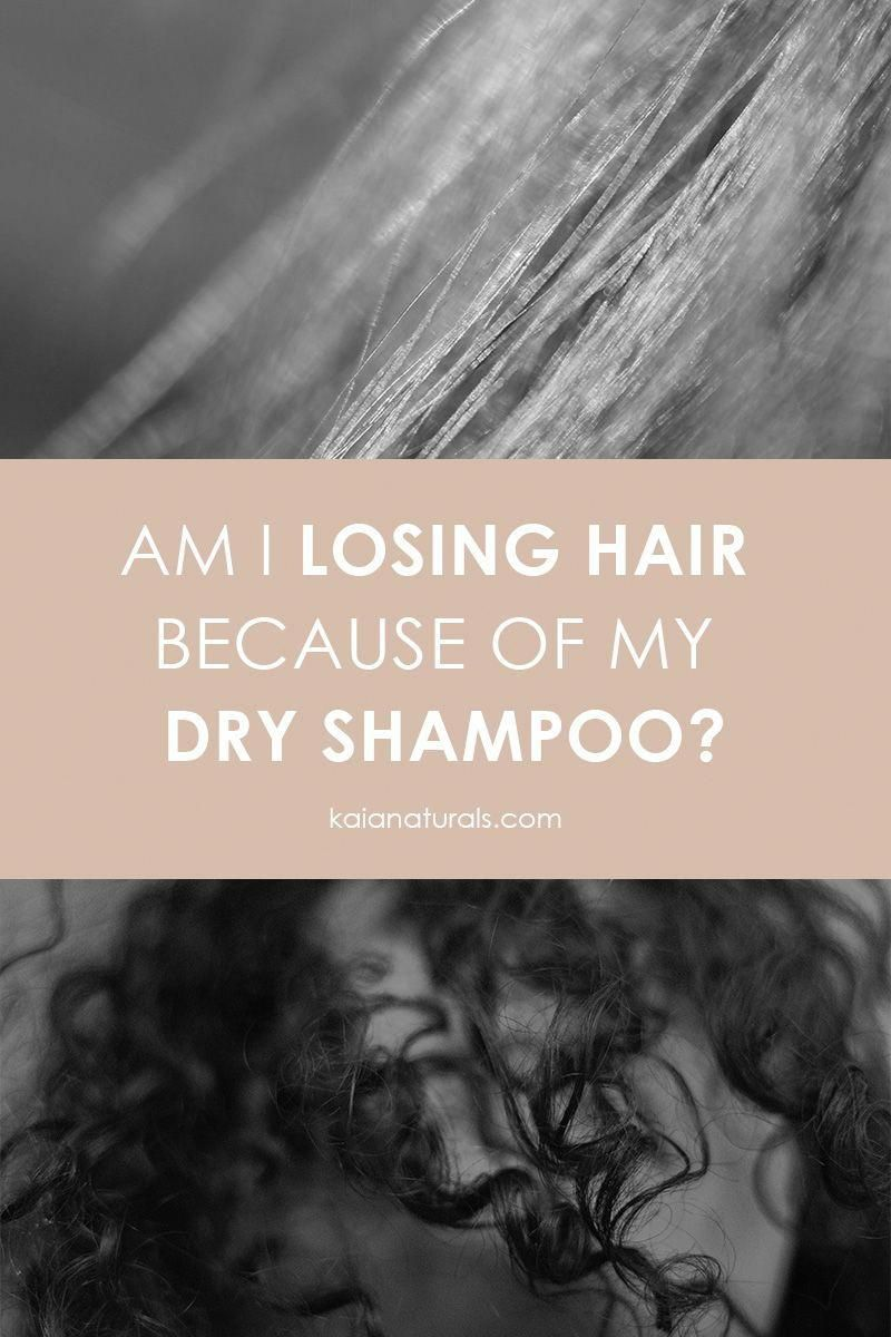 Am I Losing Hair Because of My Dry Shampoo? Some hair styles require you to use dry shampoo for added texture. However, it can also lead to hair loss in women. Find out how to properly use dry shampoo to prevent hair loss. #selfcare #hairstyles #greenbeauty #HairOilForHairLoss