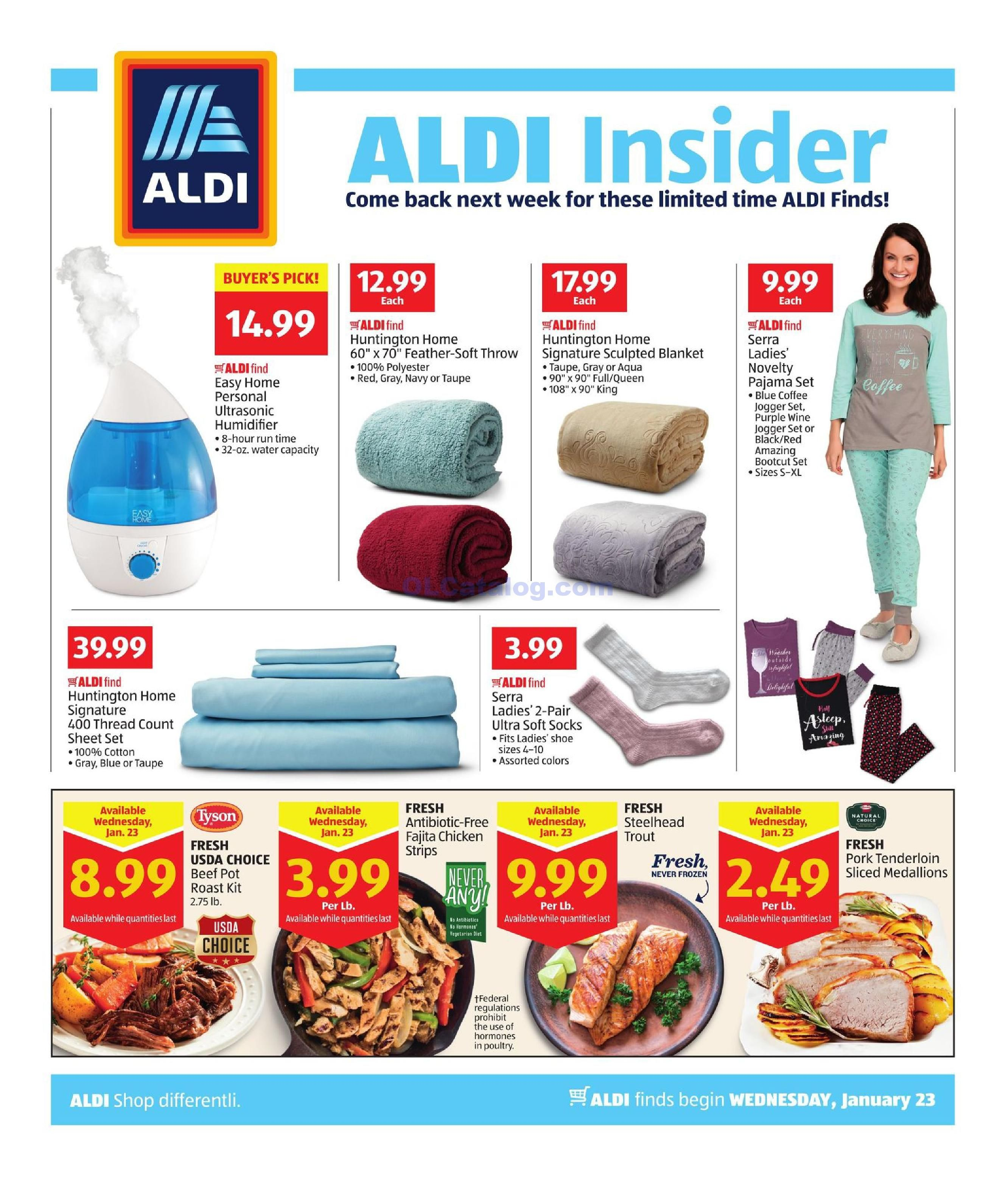 Aldi In Store Ad January 23 29 2019 View The Latest Aldi Flyer And Weekly Circular Ad For Aldi Here Likewise You Can Aldi Digital Coupons Grocery Savings