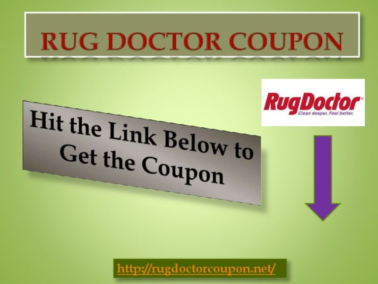 Rug Doctor Coupon Rug Doctor Coupon Pinterest Rug