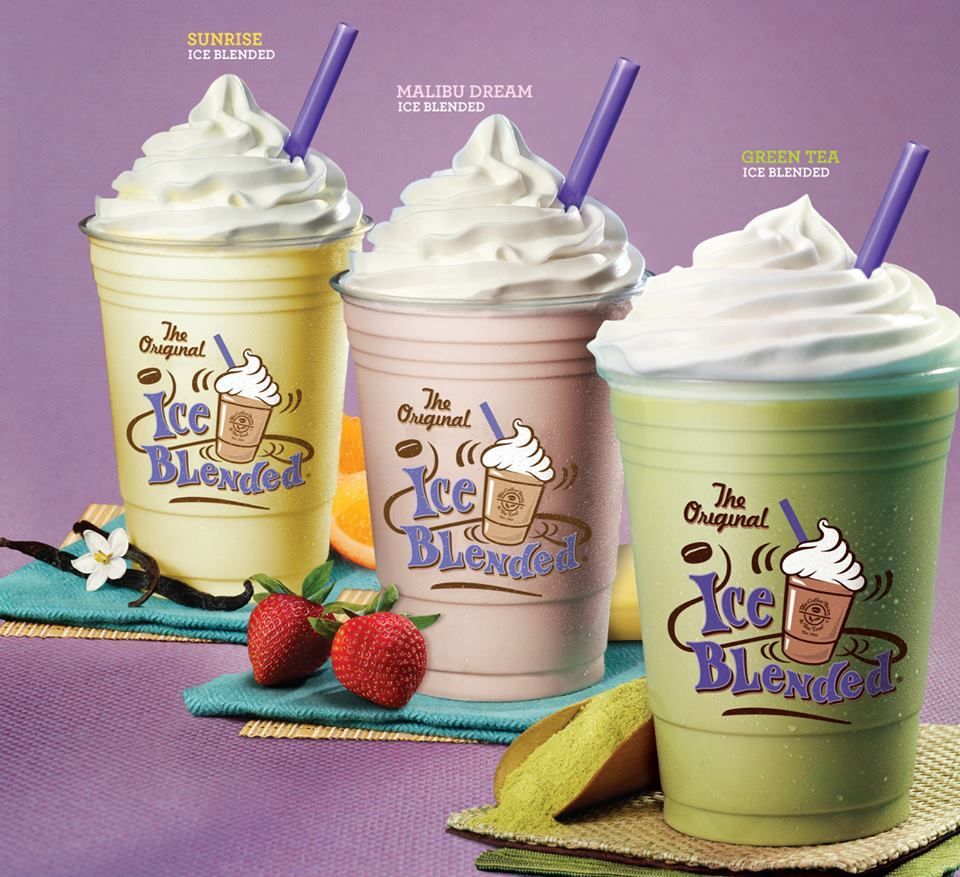 Enjoy The Refreshing Taste Of Ice Blended Drinks Without Coffee At The Coffee Bean