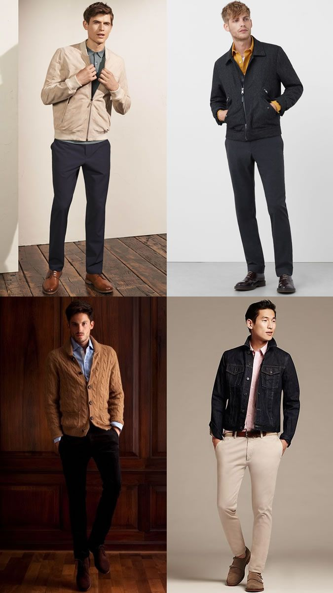 2bfda08a0c2 Men s Alternative Blazer Jackets Business-Casual Outfit Inspiration Lookbook