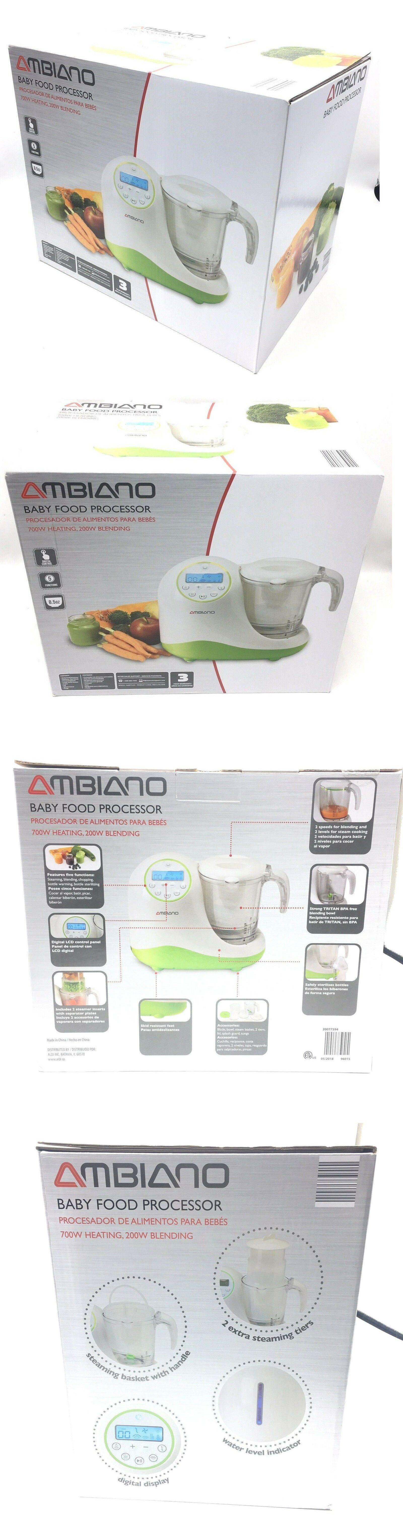 Food Grinders and Blenders 32866: Ambiano Baby Food