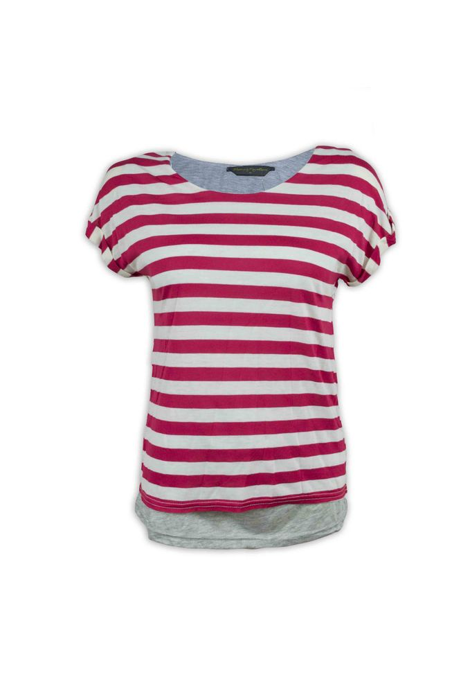 Blooming Marvellous Mothercare Maternity Pregnancy Striped Double Layer Nursing