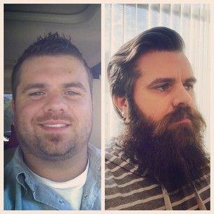 O incluso hacerte una nueva estantería. | Estos antes y después prueban que todo individuo se ve mejor con una barba